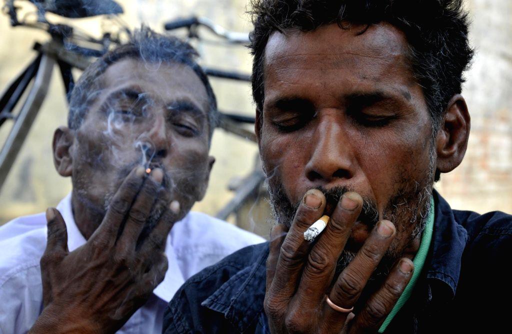 Smoking. (File Photo: IANS)