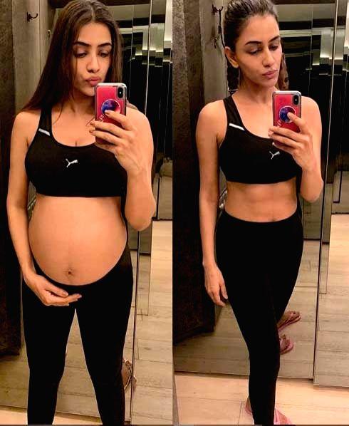 Smriti Khanna shares pic of her fit body post pregnancy. - Smriti Khanna