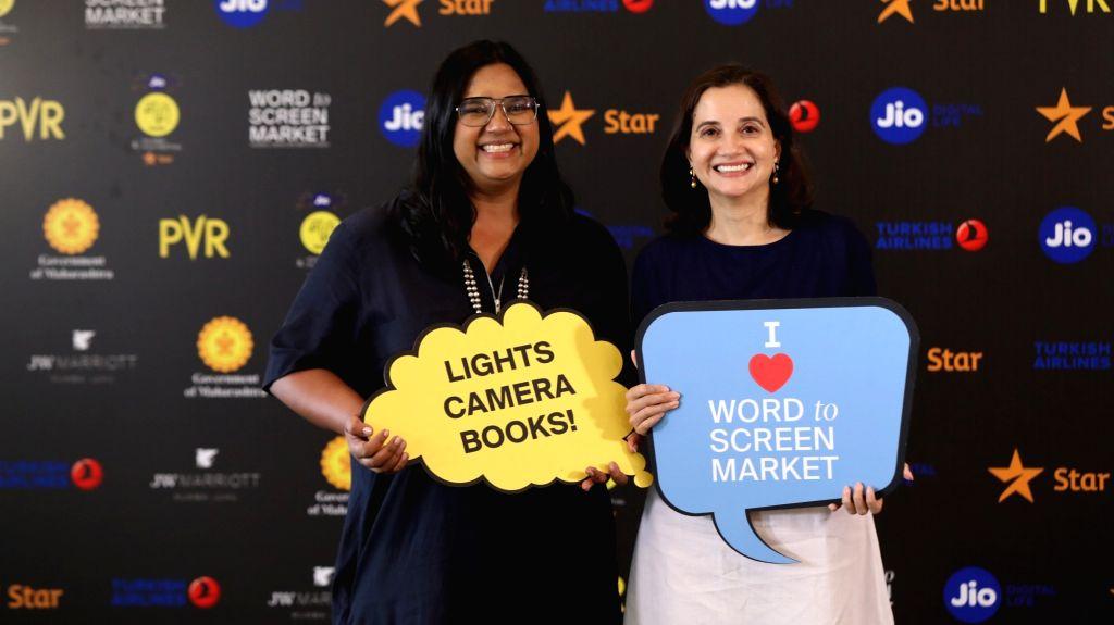 Smriti Kiran, Artistic Director, MAMI and Anupama Chopra, Festival Director, MAMI at  Jio MAMI 21st Mumbai Film Festival with Star Word to Screen Market 2019. - Anupama Chopra