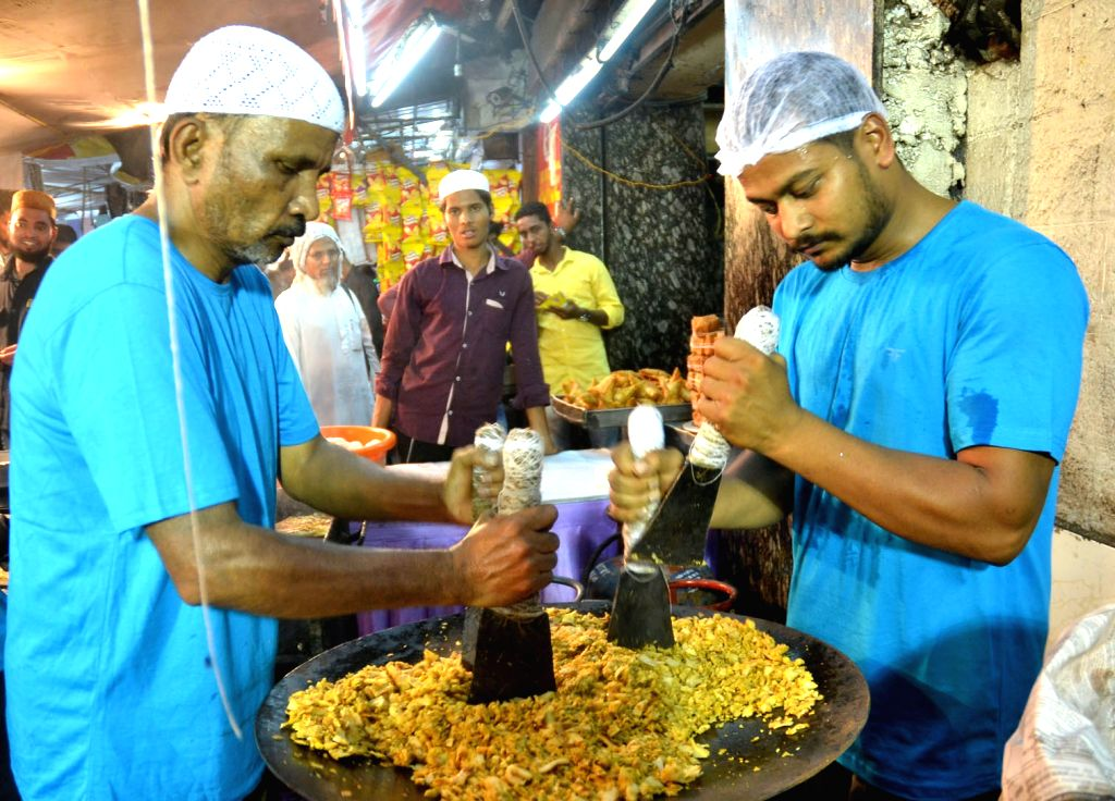 Snacks being sold for Iftaar in Bengaluru, on June 23, 2017.
