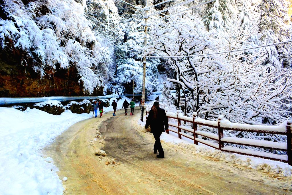 Snowfall. (File Photo: IANS)