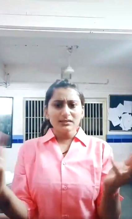 Social media users reacted sharply after a policewoman from Gujarat was reportedly suspended for a TikTok video shot inside Langhnaj village police station in Mehsana district.