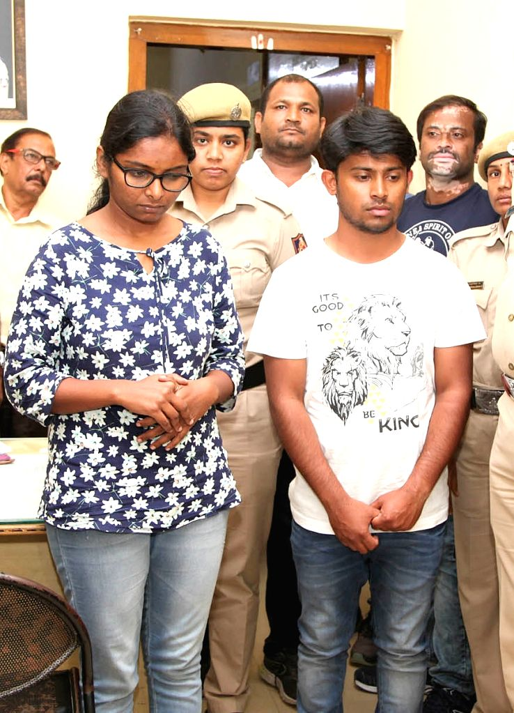 Software engineer Amrutha Chandrashekhar (33) who allegedly stabbed her mother to death with a knife and attacked her younger brother at their house in KR Puramin Bengaluru early in Sunday ...