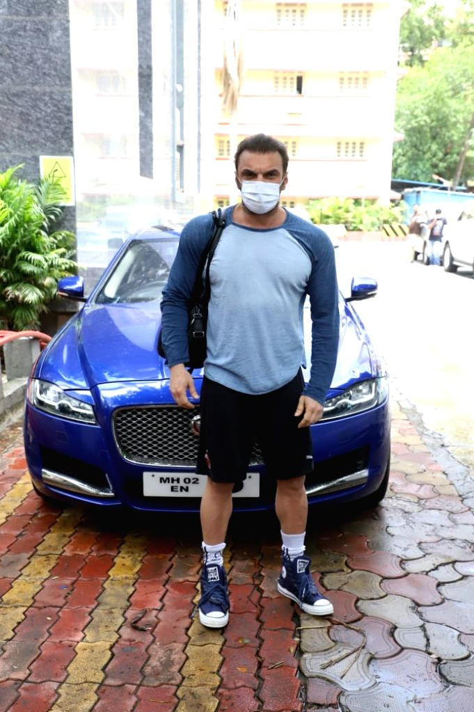 Sohail Khan Spotted At Bandra on 19 june,2021.
