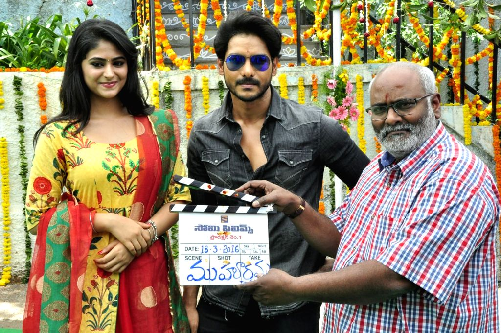 Somi Films Opening held today (18th March)  morning at  Ramanaidu Studios in Hyderabad.