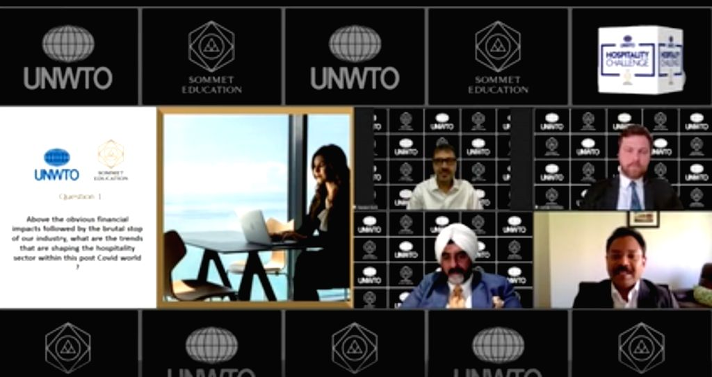 Sommet Education, UNWTO host webinar on hospitality in post-Covid world.