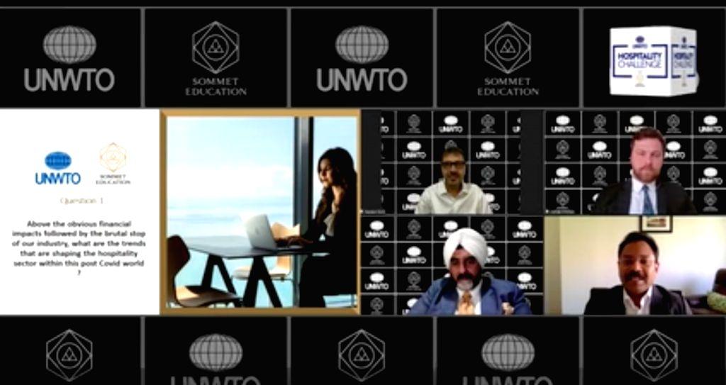 Sommet Education, UNWTO host webinar on hospitality in post-Covid world.