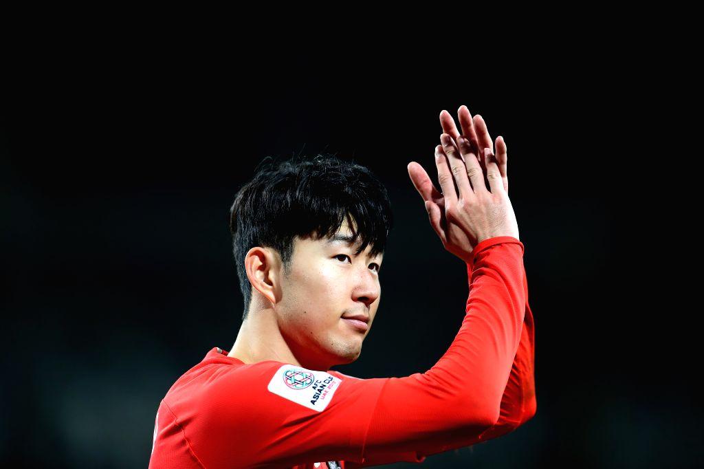 Son Heung-Min of South Korea(Xinhua/Cao Can/IANS)