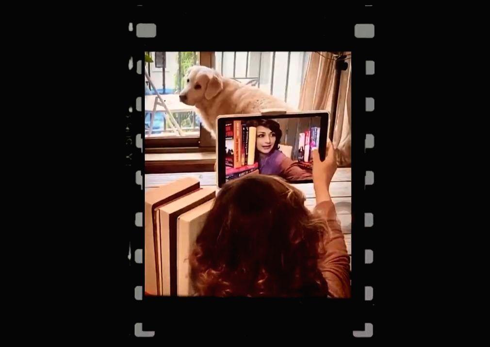 Sonali Bendre is getting tech savvy video screengrab.