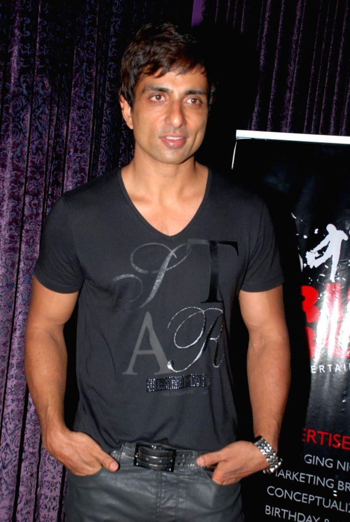 Sonu Sood at Richboyz Entertainment bash in Mumbai.