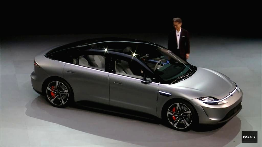 Sony electric car.