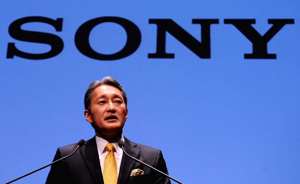 : Sony President and CEO Kazuo Hirai attends a press conference to announce business strategy at the headquarters in Tokyo, Japan, Feb. 18, 2015. Kazuo Hirai said ...