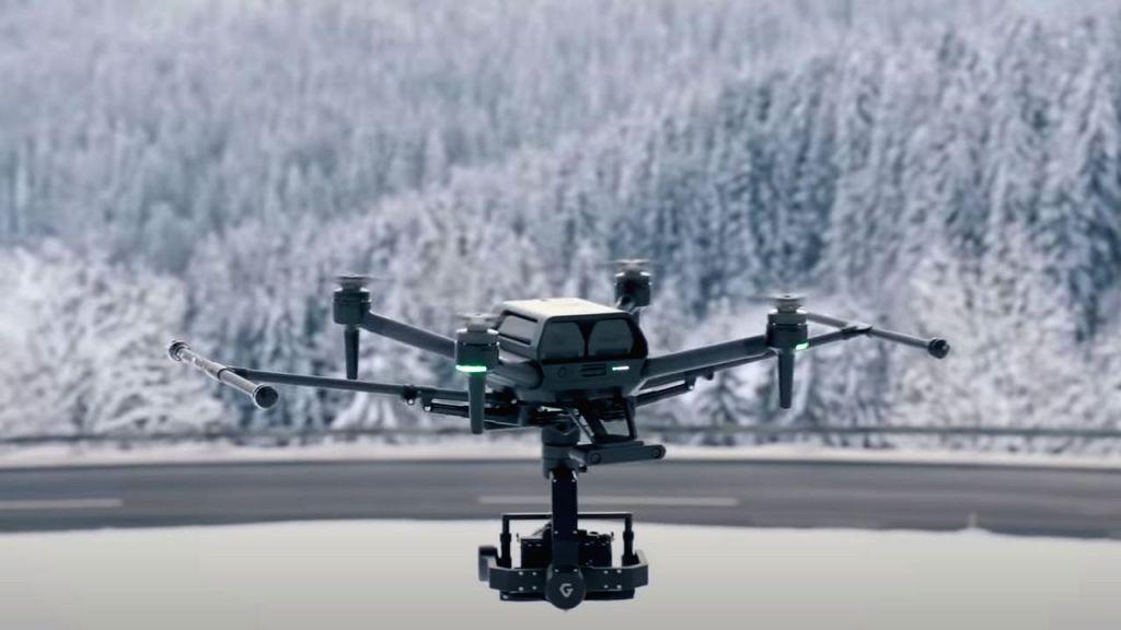 Sony showcases world's smallest drone Airpeak