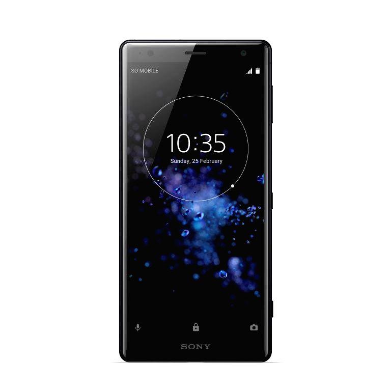 """Sony """"Xperia XZ2"""" smartphone."""