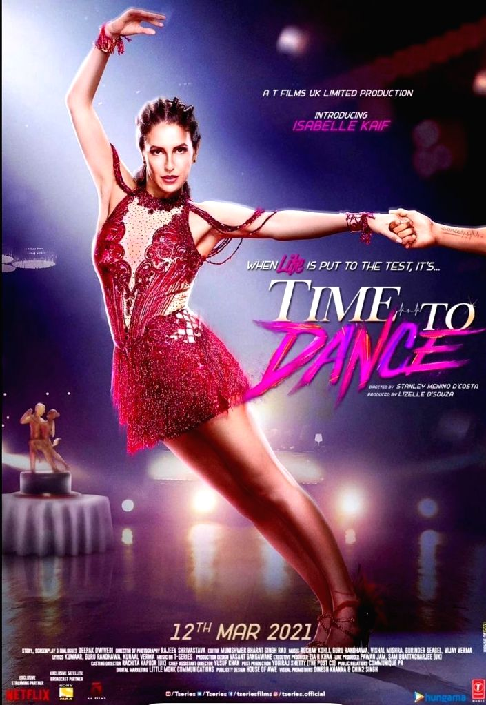Sooraj Pancholi, Isabelle Kaif starrer 'Time To Dance' releases on March 12  (Credit: Instagram)