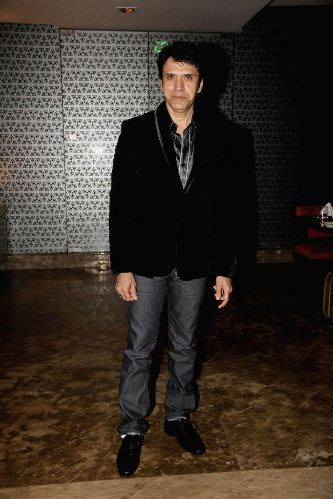 Sooraj Thapar during the hosted a party by Aneel Murarka in Mumbai, on Sept. 5, 2014.