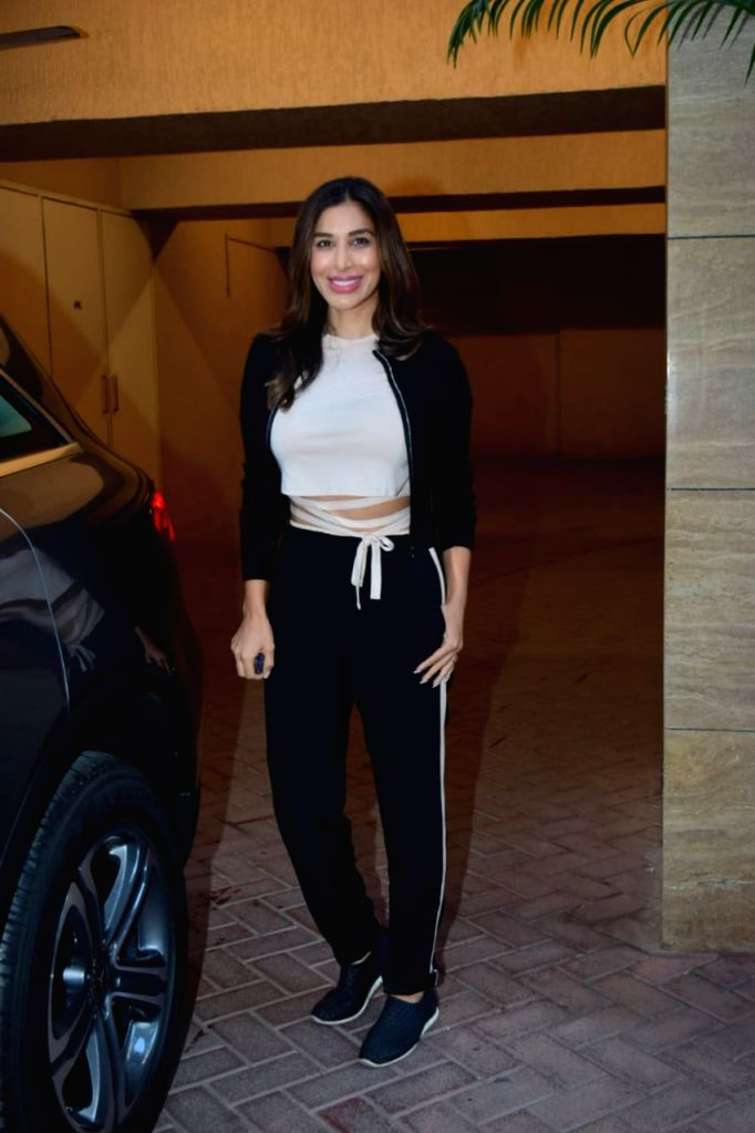 Sophie Choudhary seen at Bandra on Tuesday, 26 January 2021. - Sophie Choudhary