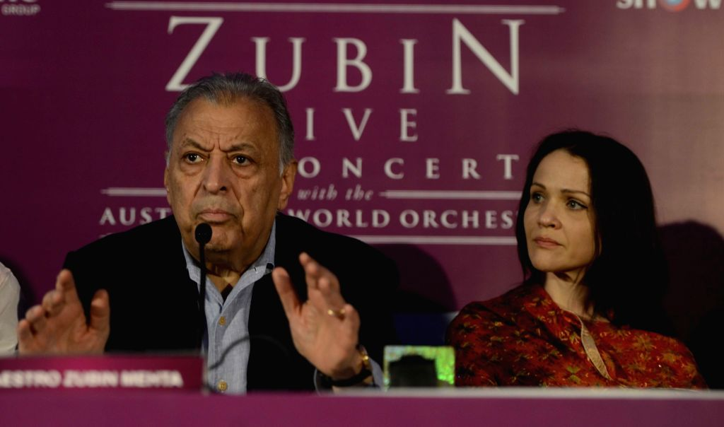 Soprano Greta Bradman, grand-daughter of Australian cricket legend Sir Don Bradman during a press conference in New Delhi, on Oct 30, 2015.