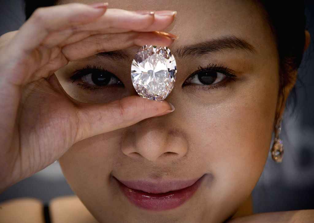 Sotheby's Diamonds unveils new collection.(Photo: IANS)