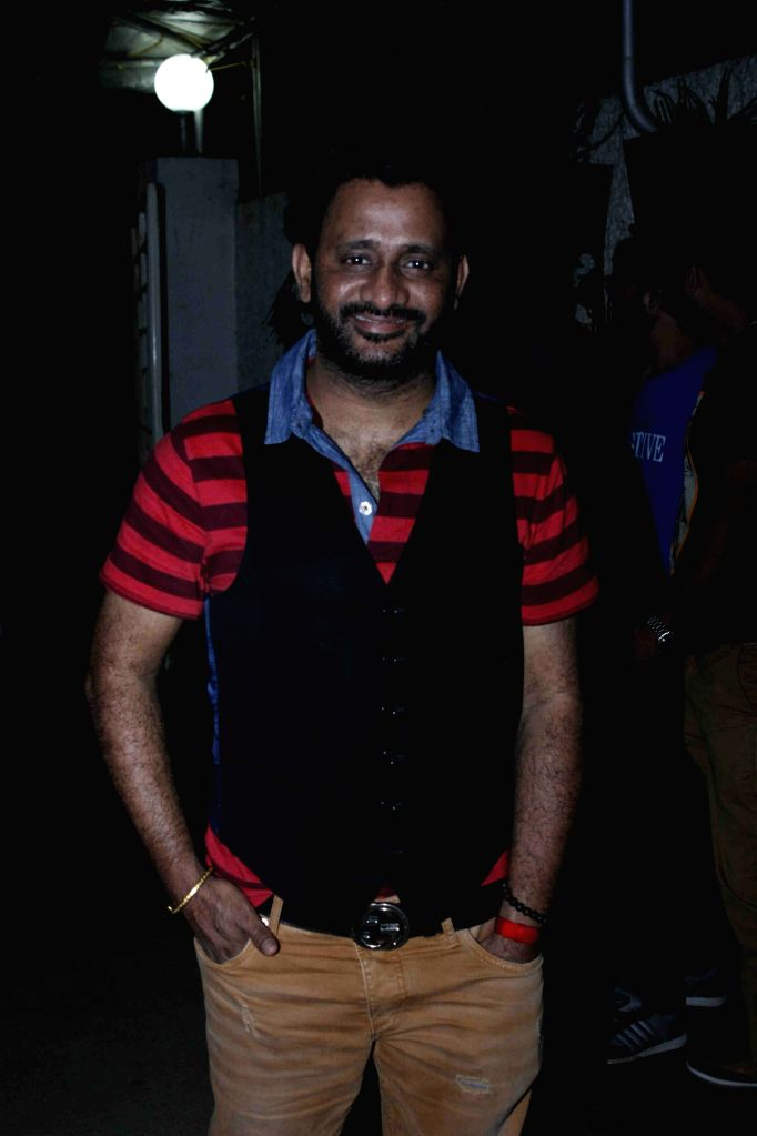 Sound designer, sound editor and mixer Resul Pookutty during the screening of film Jaanisaar in Mumbai, on August 6, 2015.
