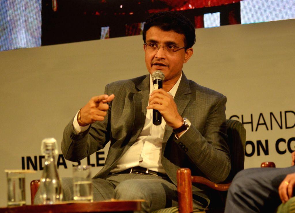 Sourav Gangul. (Photo: IANS)