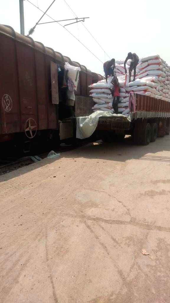 South Central Railway ships first inter - state fish feed consignment