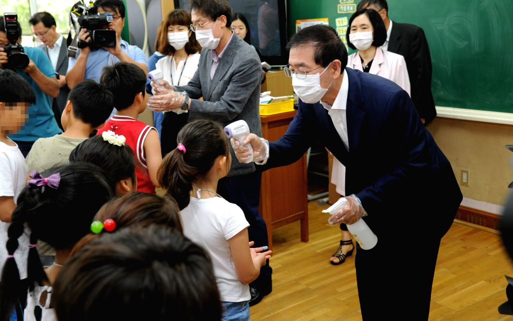 South Korean schools to reopen with online classes