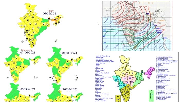 Southwest monsoon advances further, covers entire northeast