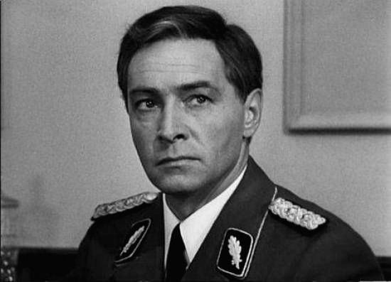 Soviet super-spy Stirlitz, created by journalist-cum-author Yuliam Semyonov, as played by actor Vyacheslav Tikhonov in a popular Russian TV series - Vyacheslav Tikhonov