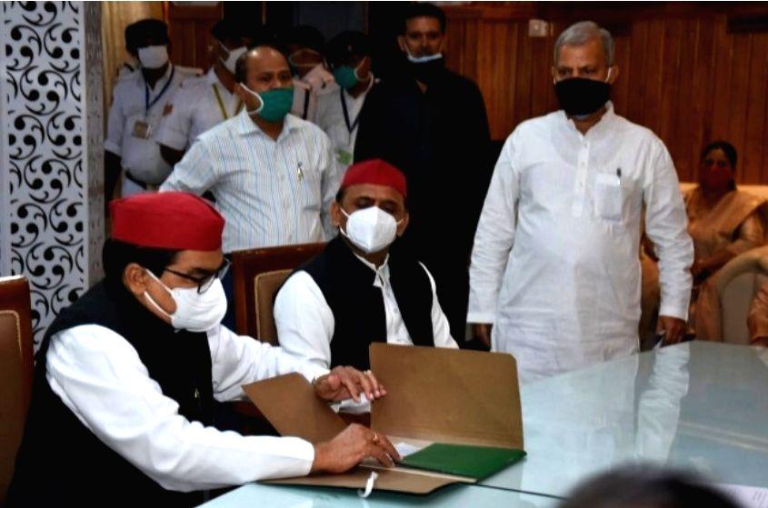 SP's Ram Gopal nominated for Rajya Sabha from UP.
