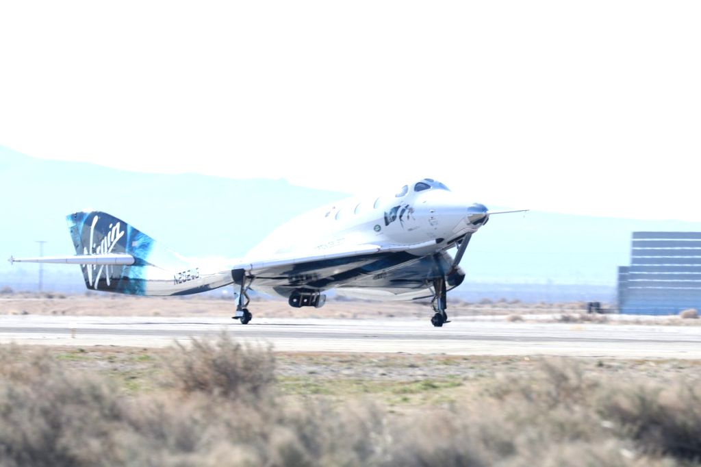 SpaceShipTwo. (Photo: Twitter/@virgingalactic)