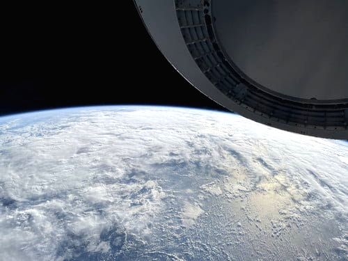 SpaceX crew shares Earth image shot on iPhone