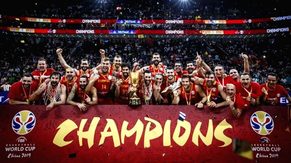 Spain completed their undefeated run at the FIBA Basketball World Cup 2019 with a 95-75 victory against Argentina in the Final to capture the Naismith Trophy at the Wukesong Sport Arena in ...