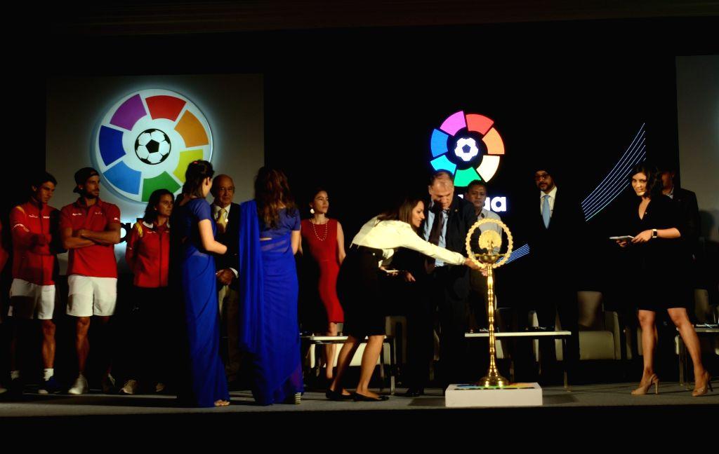 Spanish football league, La Liga launched in India on Sept 15, 2016.