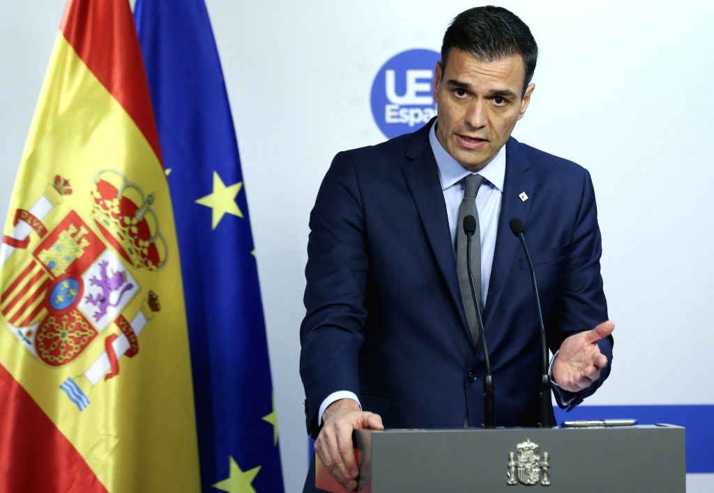 Spanish Prime Minister Pedro Sanchez. (Xinhua/Ye Pingfan/IANS) - Pedro Sanchez