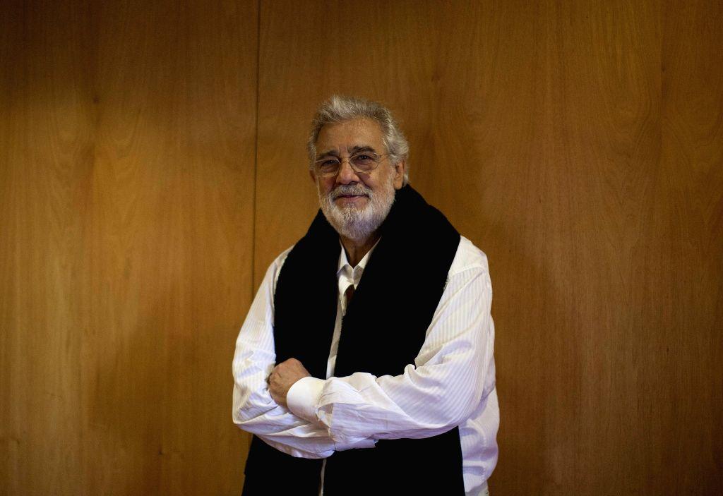 Spanish tenor Placido Domingo. IANS/EFE/Armando Arorizo