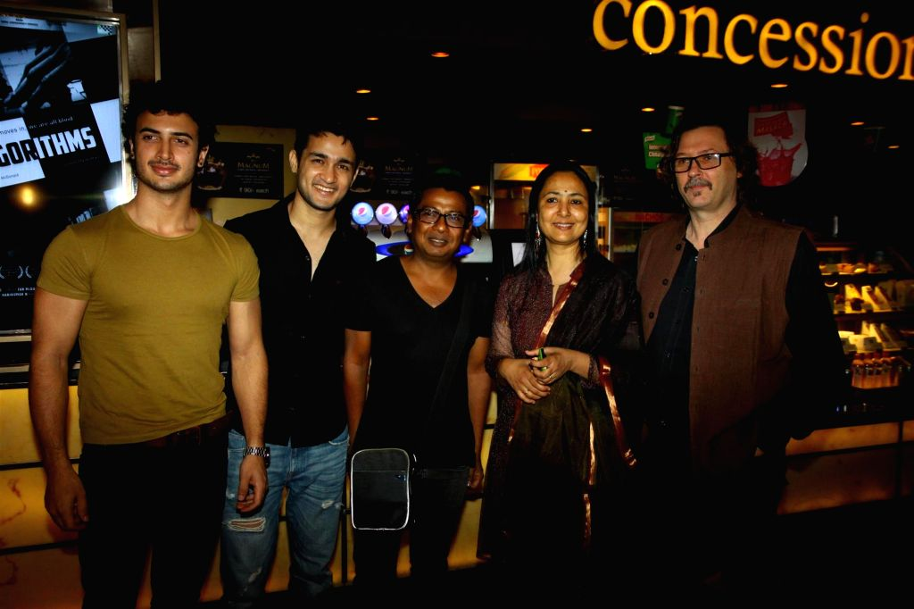 Special screening of documentary Algorithms in Mumbai on August 18, 2015.