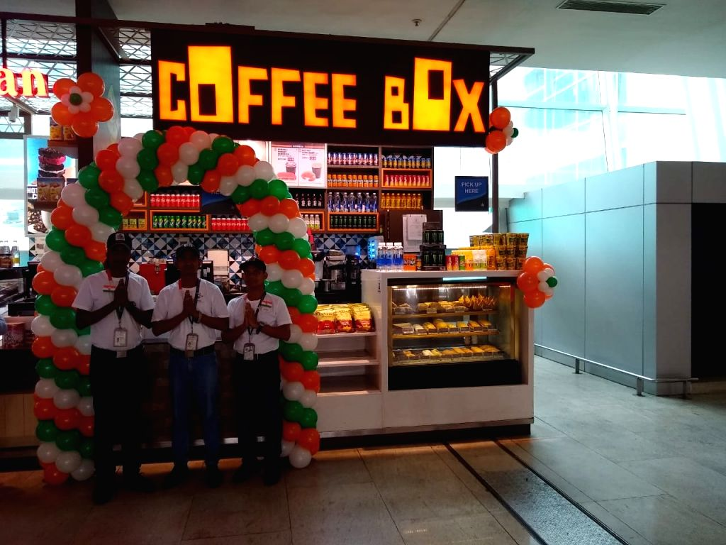 Specially-enabled individuals run TFS outlet at Chennai airport.