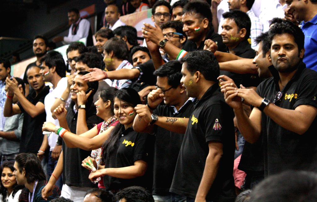 Spectators IBL -2013 in New Delhi on August 15,2013. (Photo::: Amlan Paliwal/IANS)