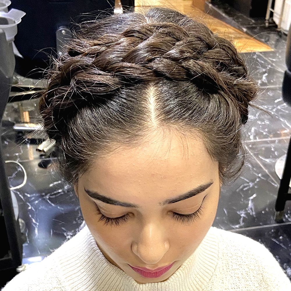 Image result for Sport these holiday hairstyles for short hair