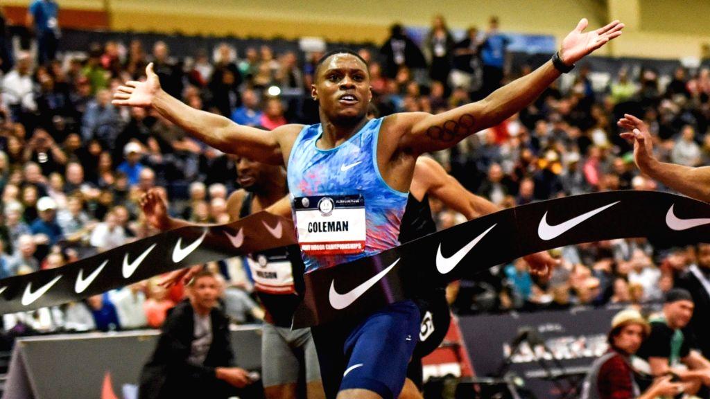 Sprint world champion Coleman to miss Tokyo despite reduced ban.