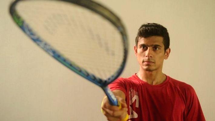 Squash player Saurav Ghosal.