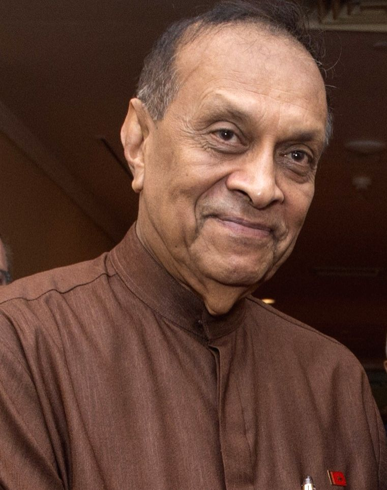 :Sri Lanka Parliament Speaker Karu Jayasuriya .