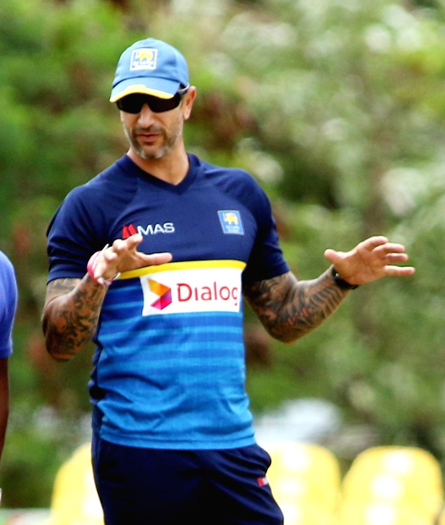 Sri Lanka's cricket interim head coach Nic Pothas. (File Photo: Surjeet Yadav/IANS) - Surjeet Yadav