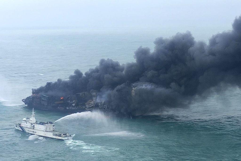 Sri Lanka seeks India's help to contain merchant vessel fire