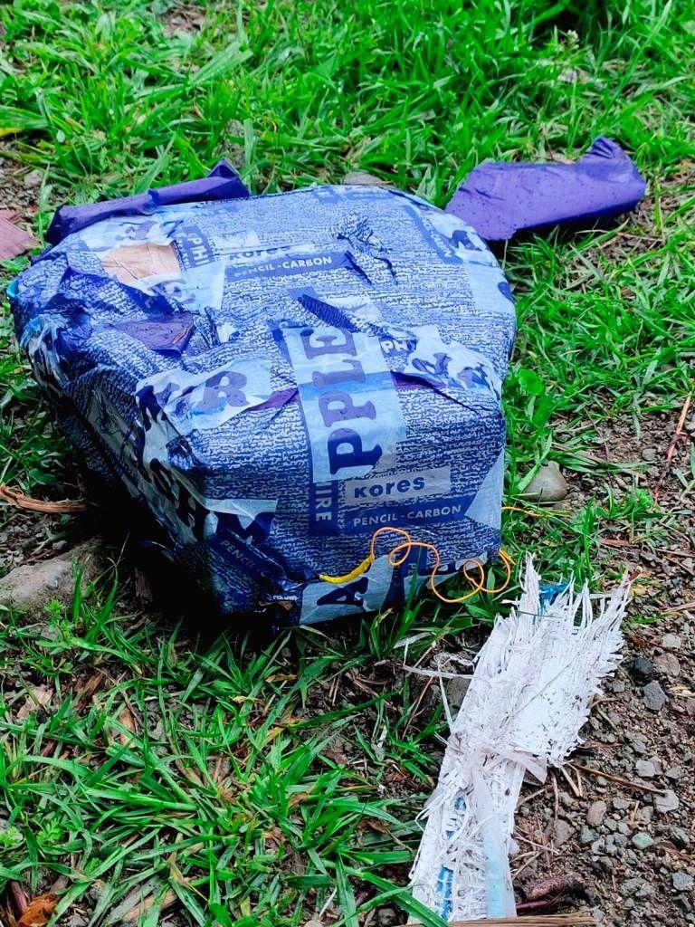 Srinagar: IED found along circular road in Pulwama, defused An Improvised Explosive Device (IED) was found along Circular road in Pulwama On Friday, 23 April, 2021.(Photo:Nisar Malik/IANS) - Malik