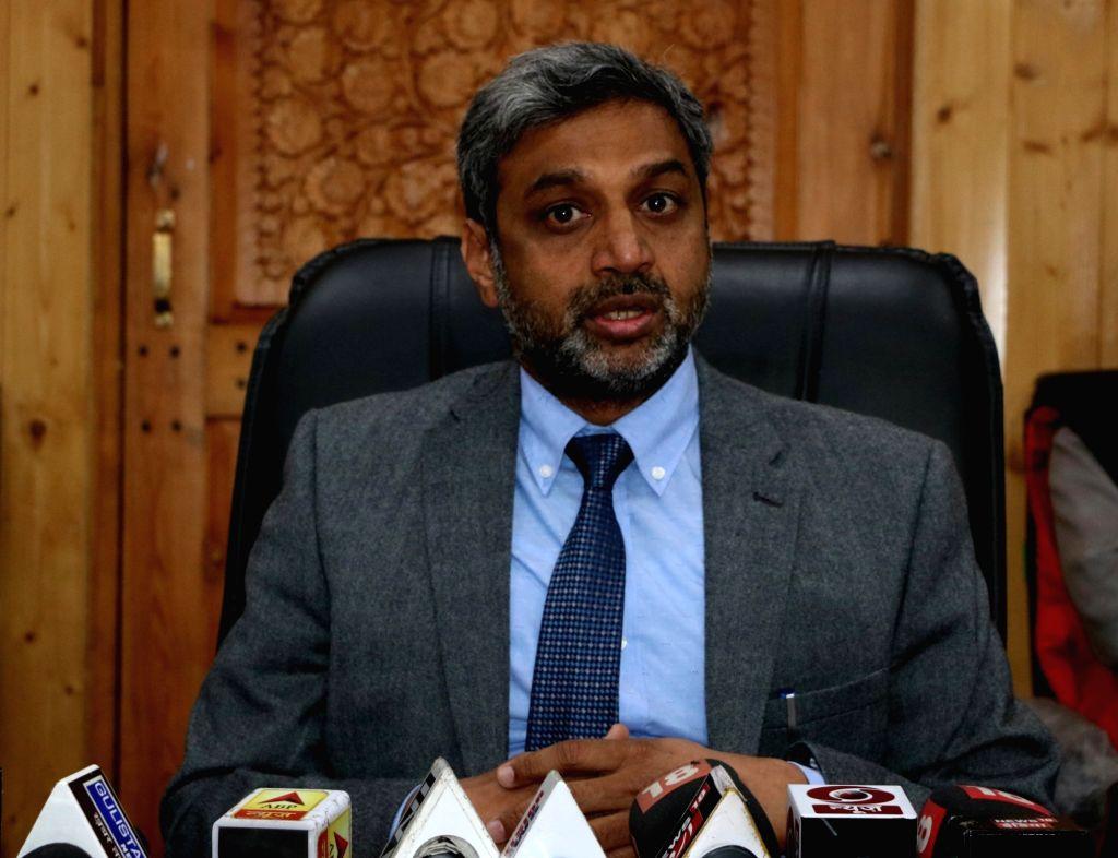 Srinagar: Jammu and Kashmir Chief Electoral Officer (CEO) Shaleen Kabra (Photo: IANS)
