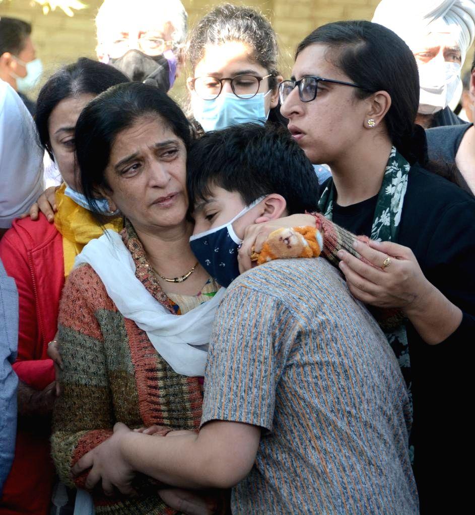 Srinagar : My father was a fighter: Shraddha Bindroo.(photo:Umar Qadir)
