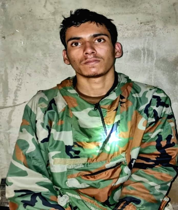 Srinagar: The Army said on Tuesday that seven terrorists were killed and one captured alive during the last seven days along the Line of Control (LoC) in the Uri sector.(Photo: Nisar Malik /IANS) - Malik