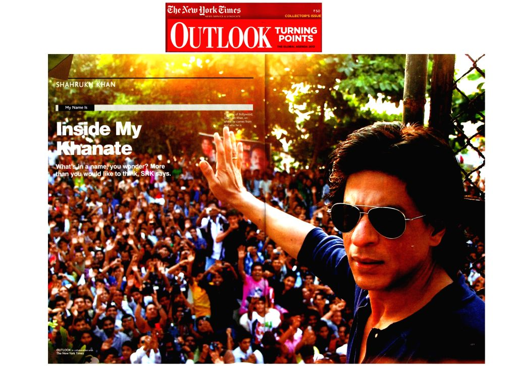 SRK on Outlook Magazine